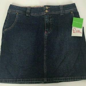 Lilly Pulitzer Cameron Skirt Bling Argyle Size 6
